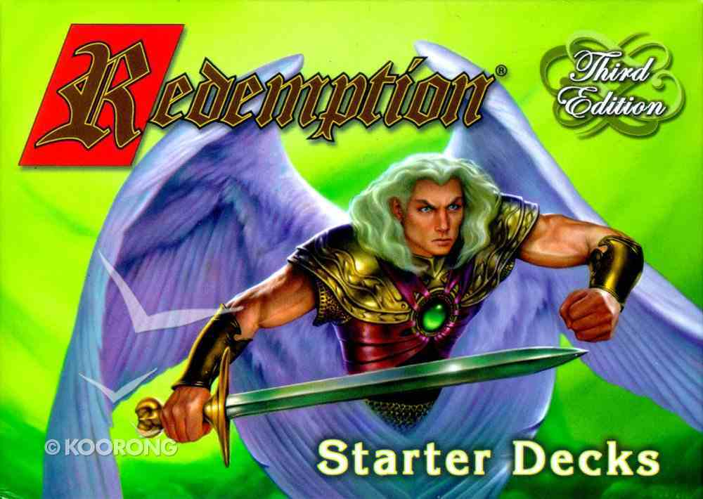 Redemption Starter Deck (3rd Edition) (Redemption Card Game Series) Game