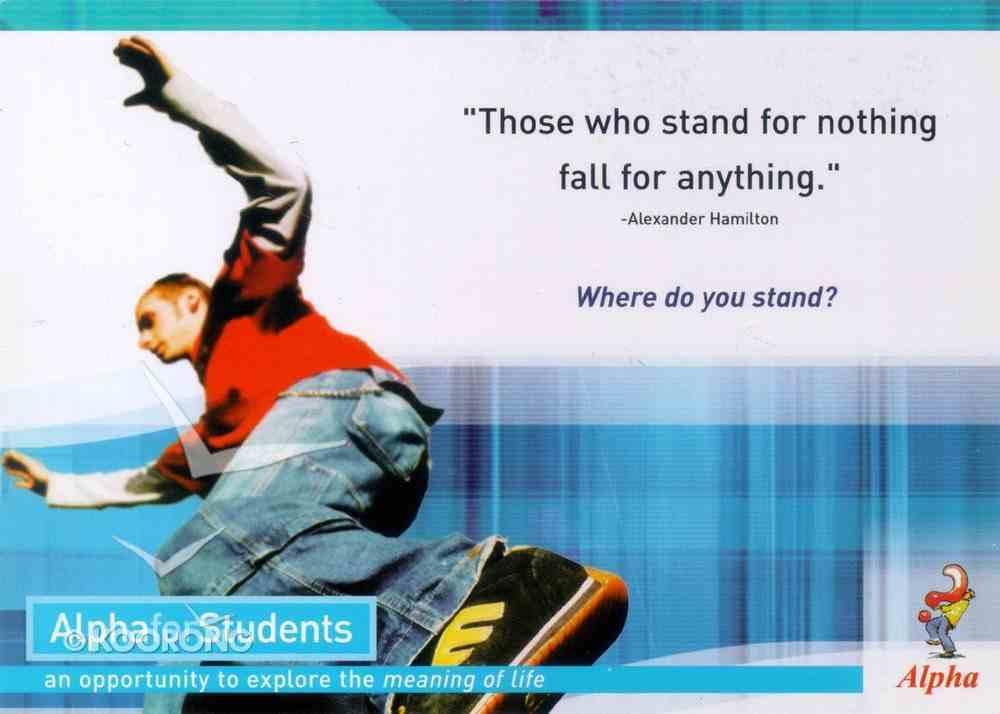 Postcards (Student Alpha Series) Cards