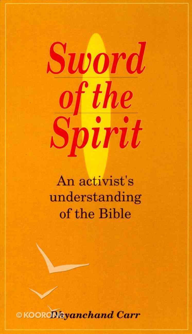 Sword of the Spirit Paperback
