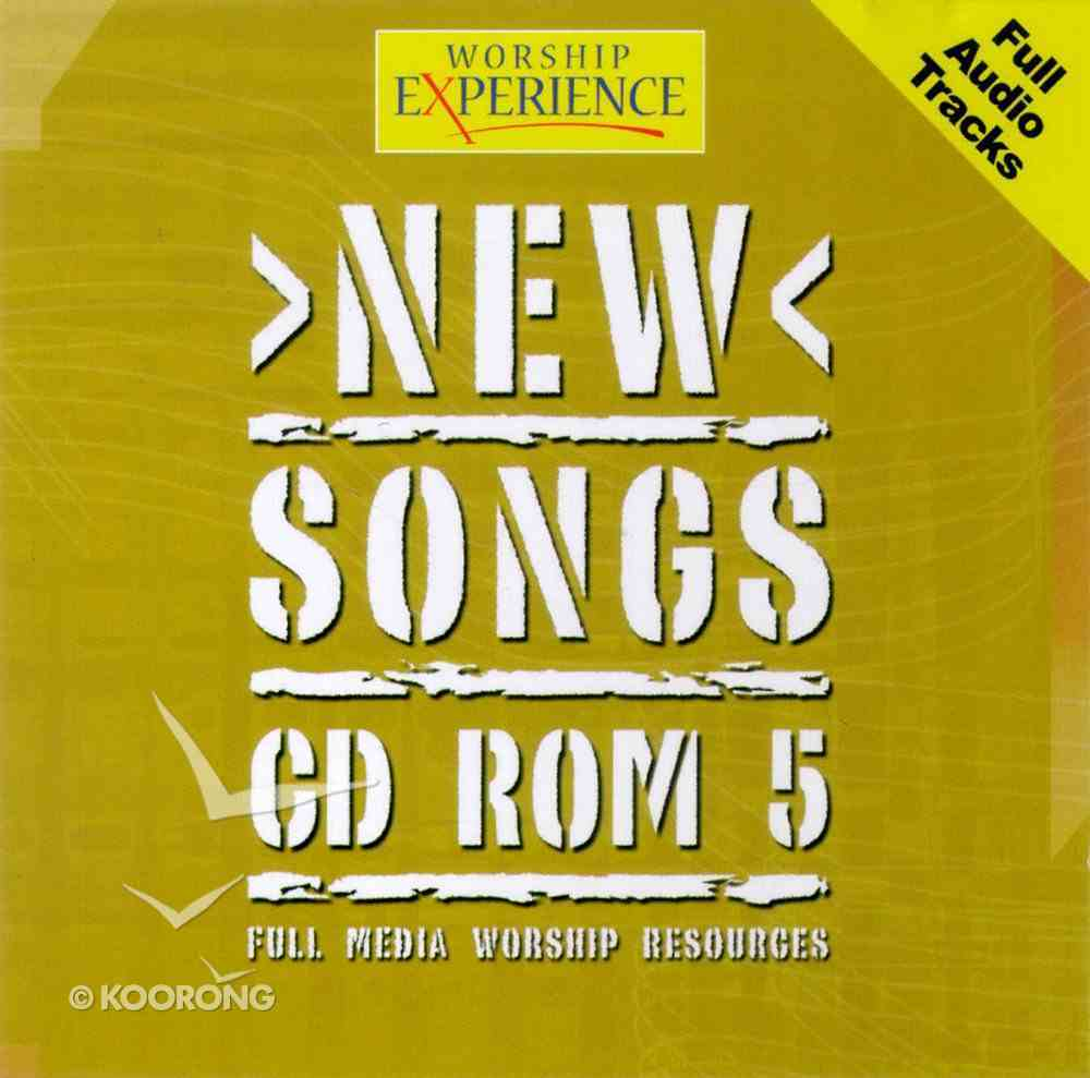 CDROM (#05 in Worship Experience New Songs Series) CD-rom