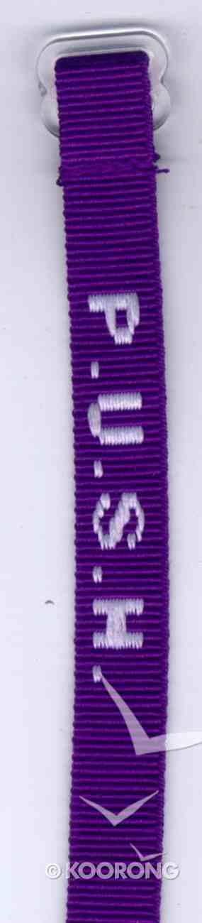 Wristband: Push Maroon Jewellery