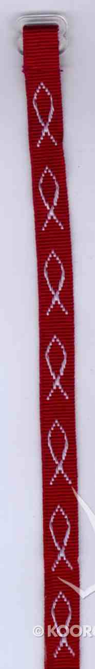Wristband: Fish Maroon Jewellery