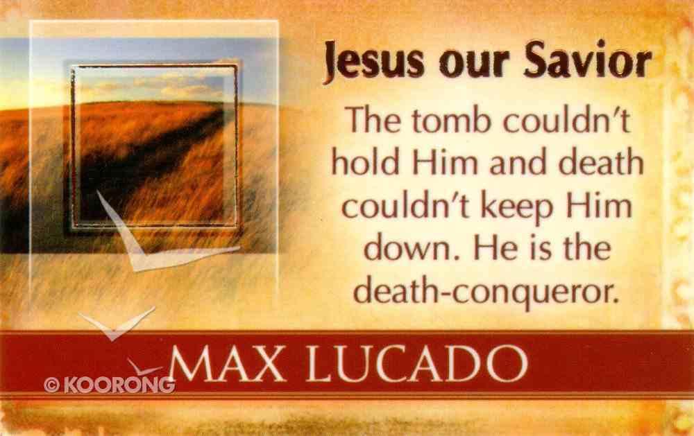 Mlc Pass Around Cards: Jesus Our Savior Cards