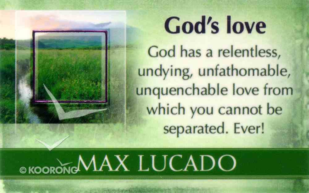 Mlc Pass Around Cards: God's Love Cards