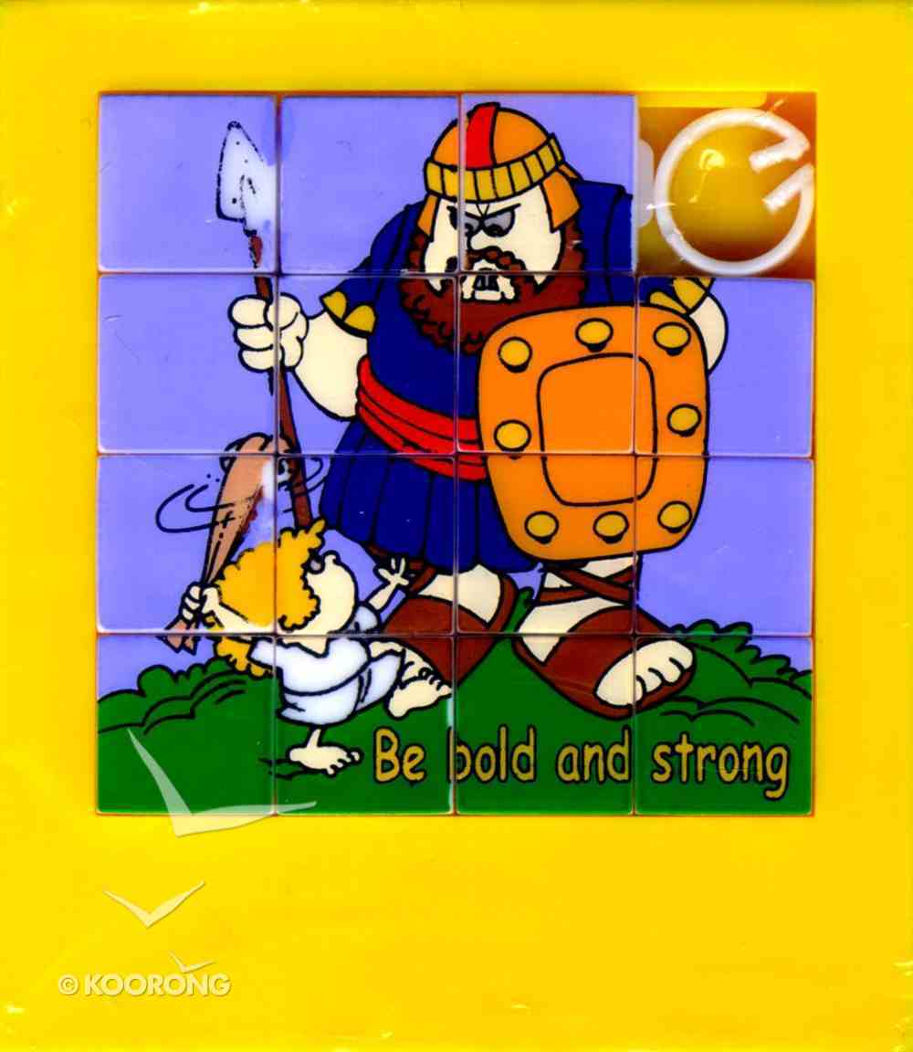 Novelty Puzzle: Be Strong and Bold Novelty