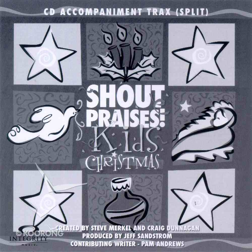Shout Praises Christmas Trax CD