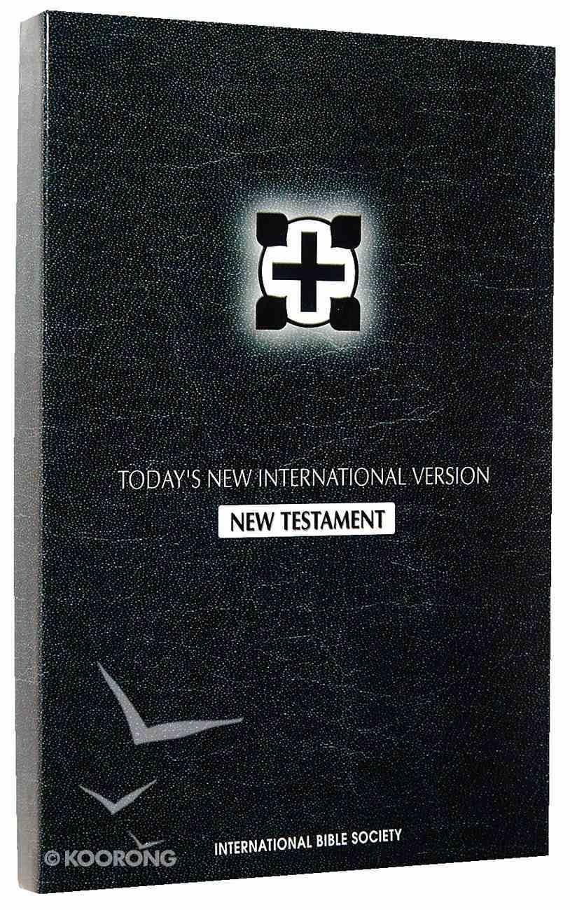 TNIV New Testament Black #1212 Bonded Leather