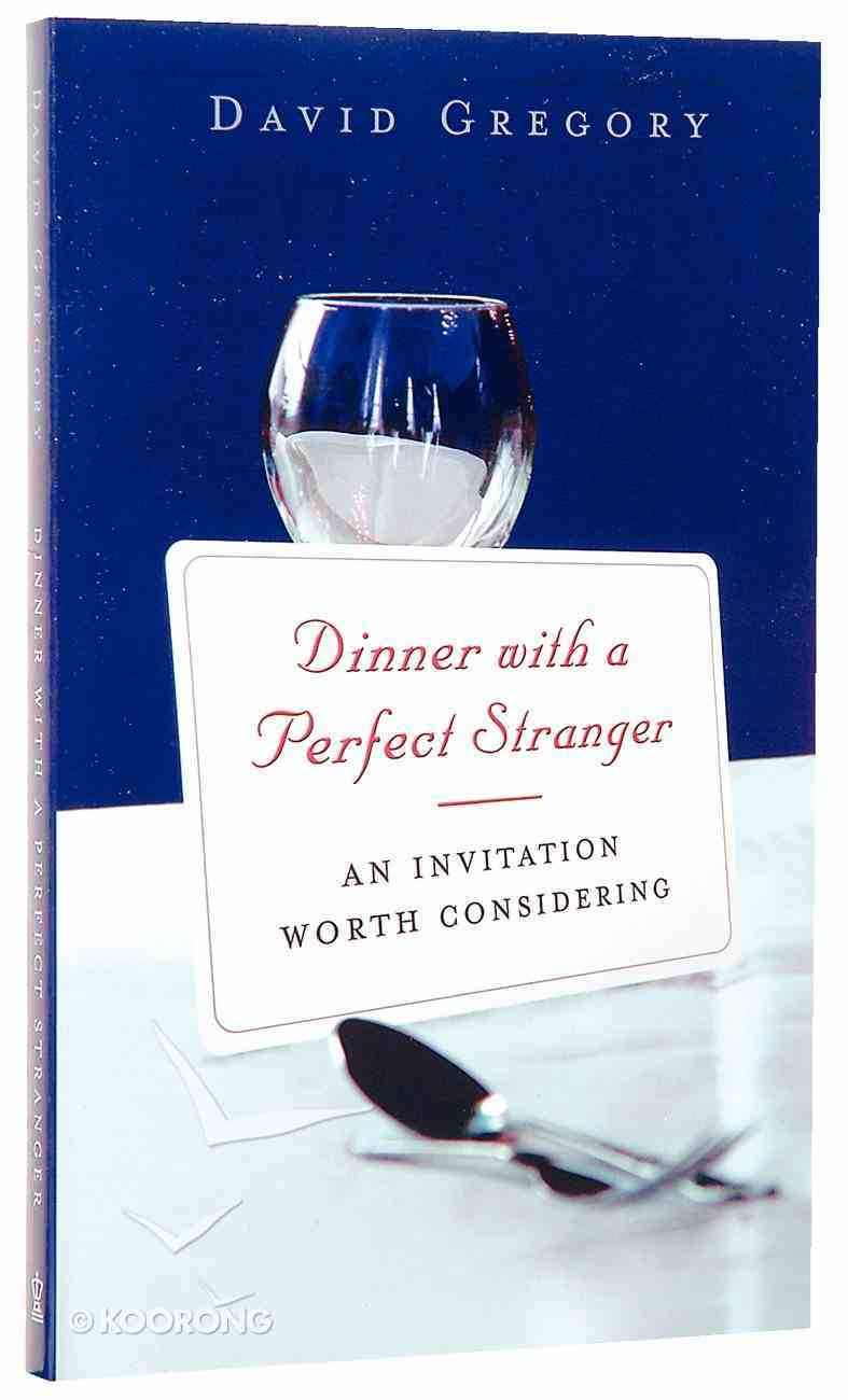 Dinner With a Perfect Stranger Paperback