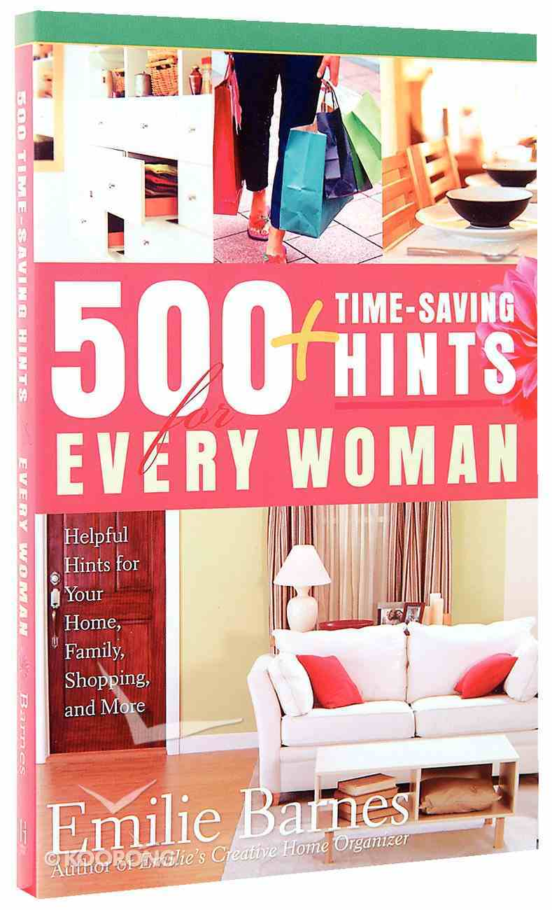 500 Time-Saving Hints For Every Woman Paperback