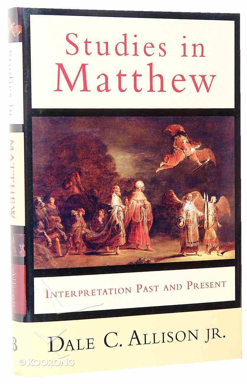 Studies in Matthew Hardback