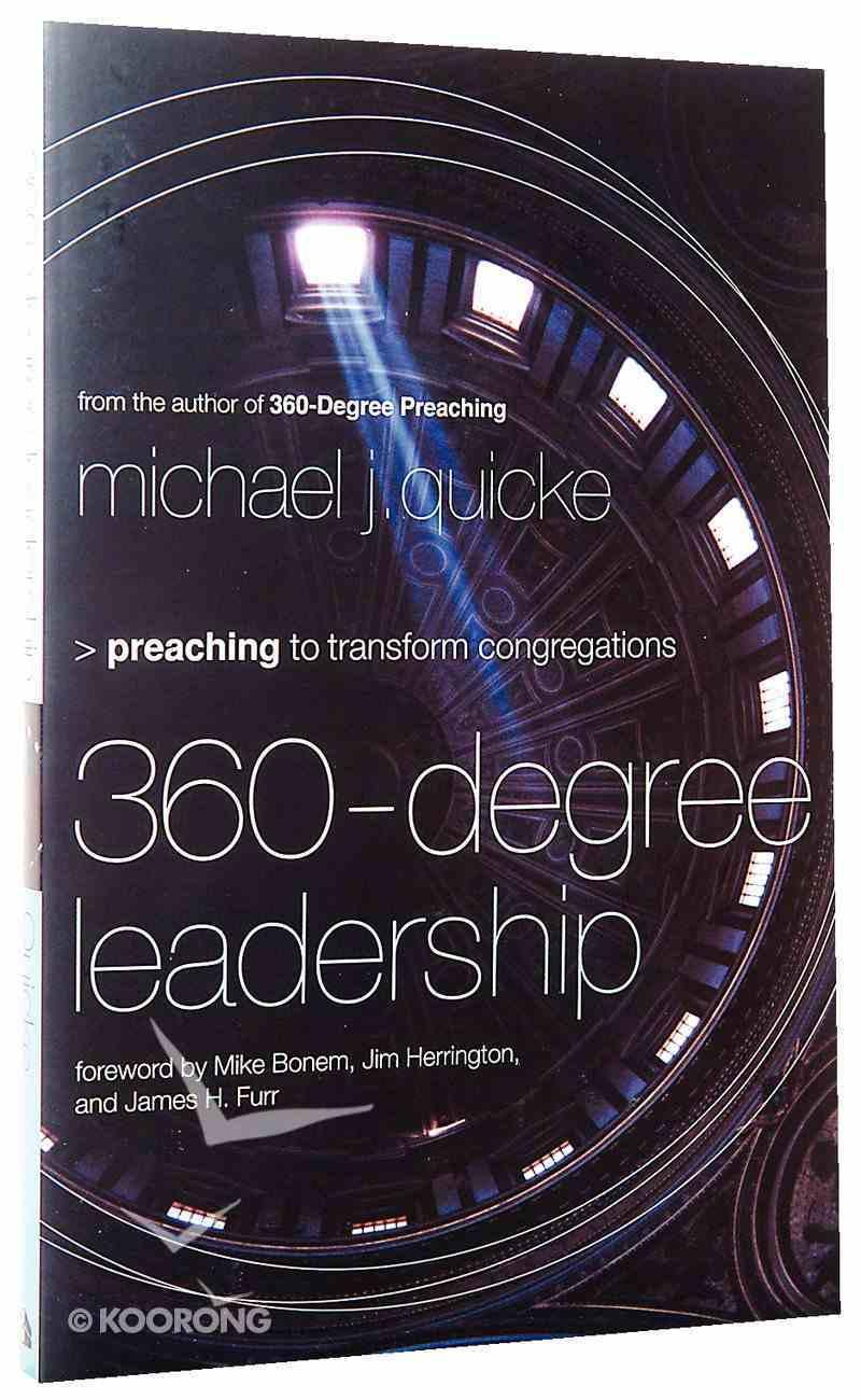 360-Degree Leadership Paperback