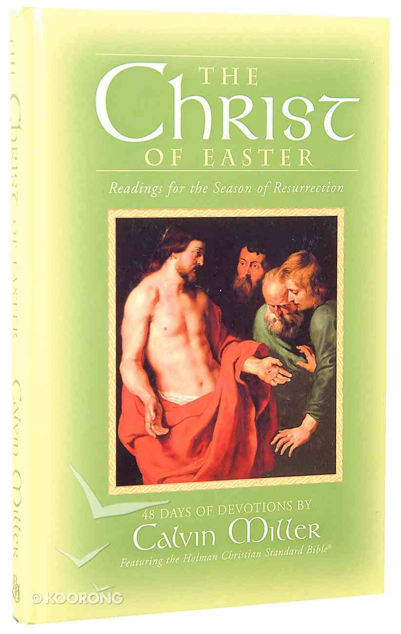 The Christ of Easter Hardback