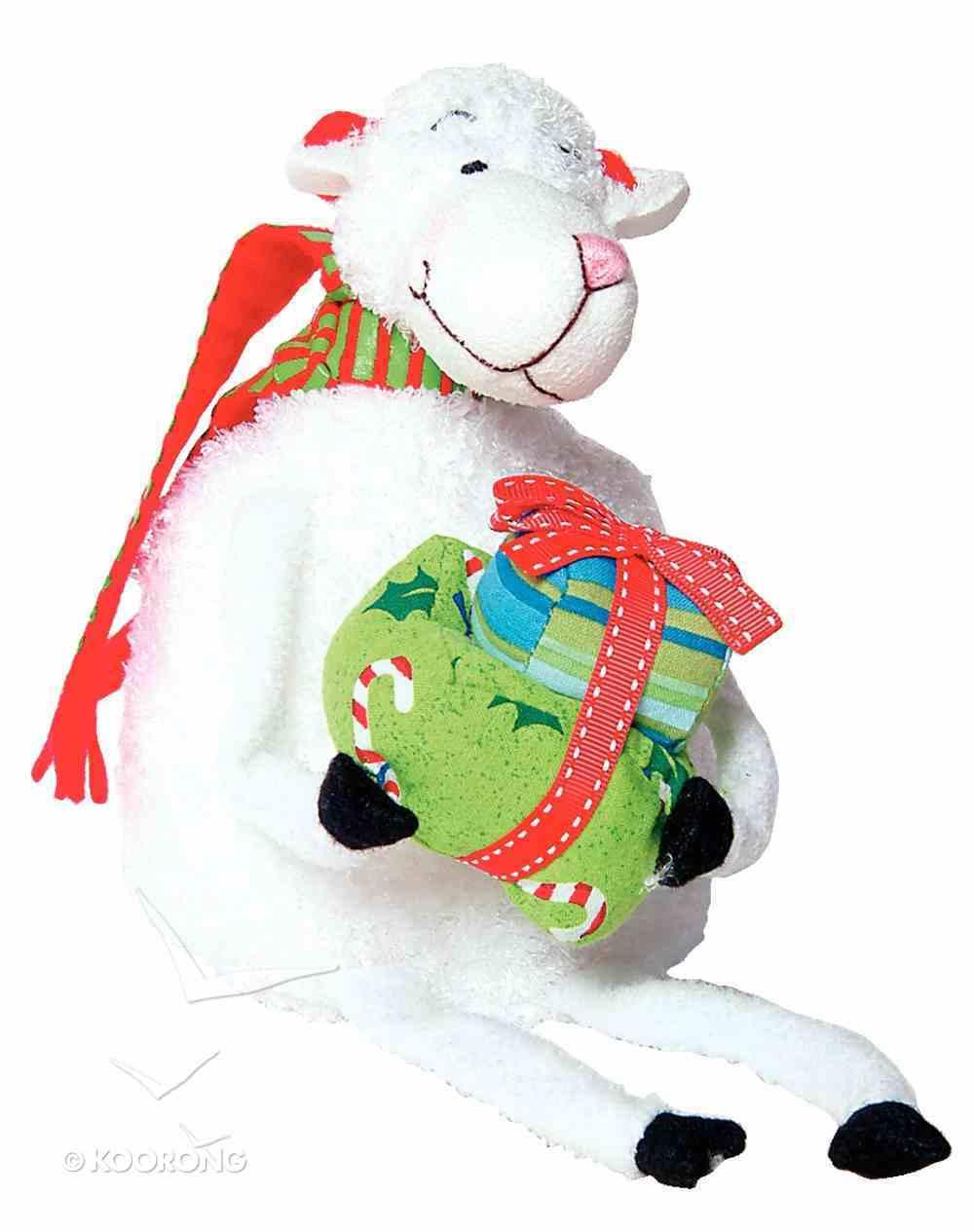 Really Woolly Plush Christmas Sheep: Hope Soft Goods