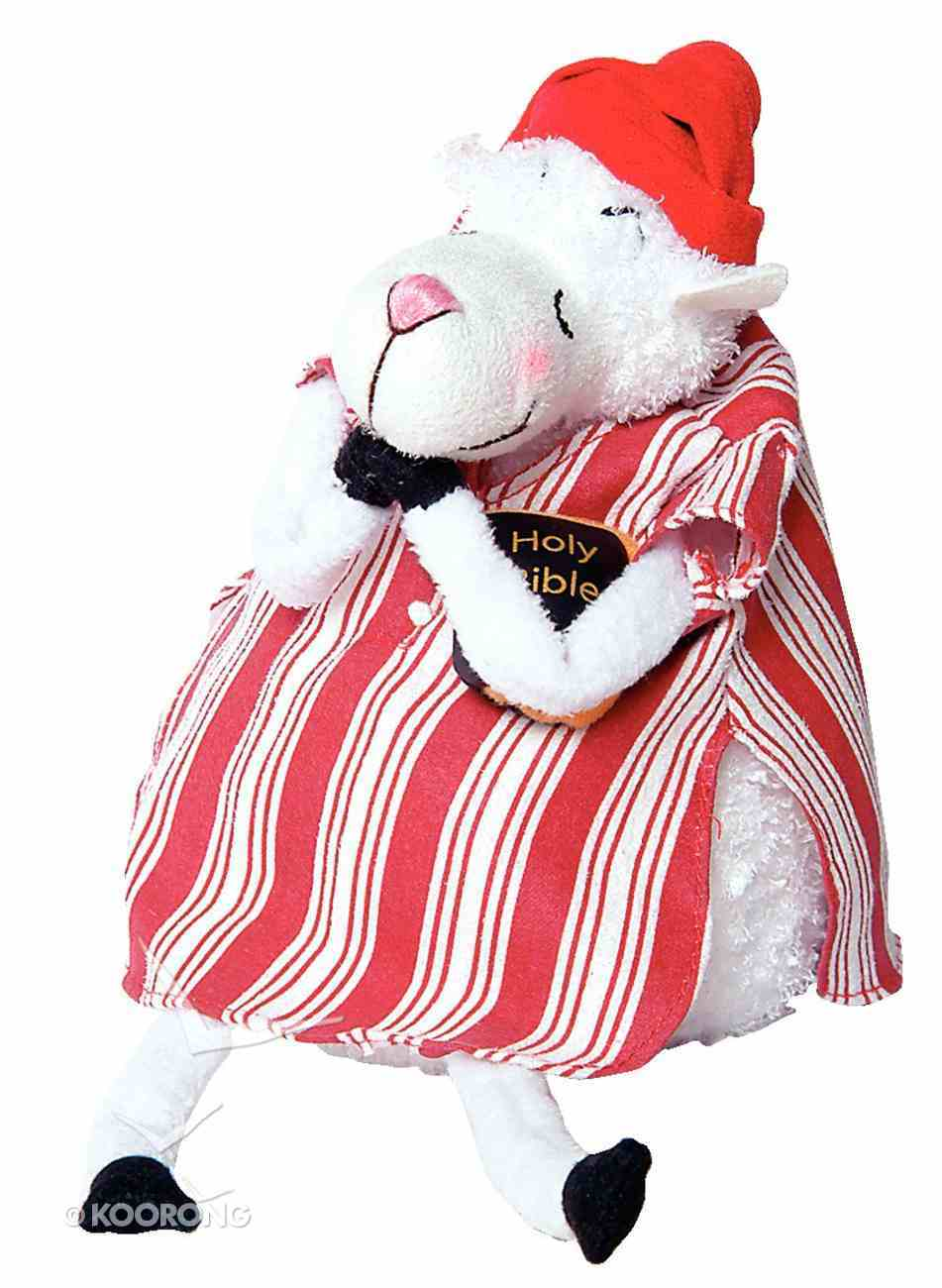 Really Woolly Plush Christmas Sheep: Faith Soft Goods