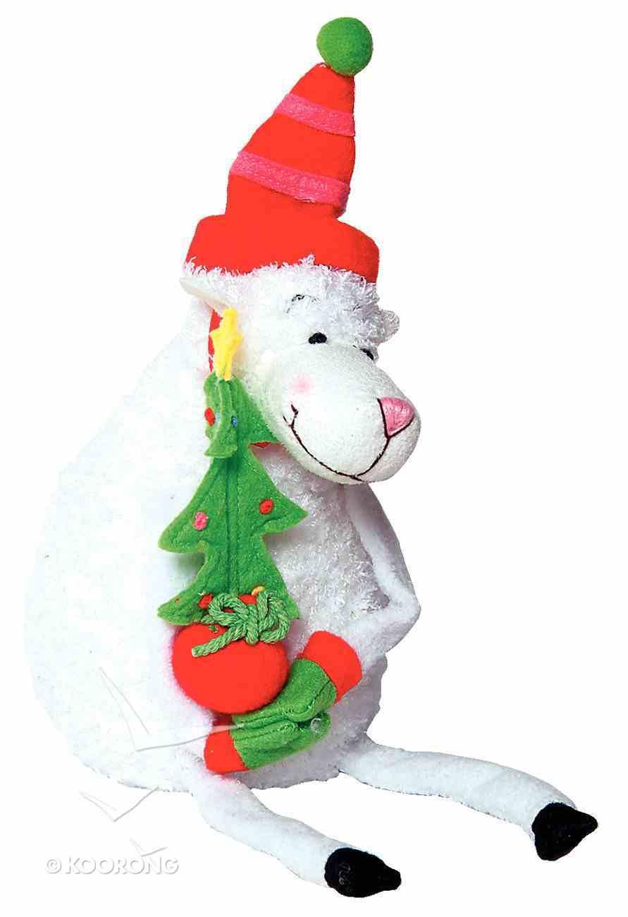 Really Woolly Plush Christmas Sheep: Joy Soft Goods