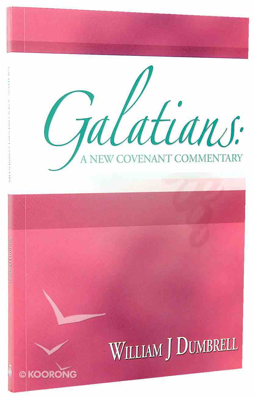 Galatians (New Covenant Commentary Series) Paperback