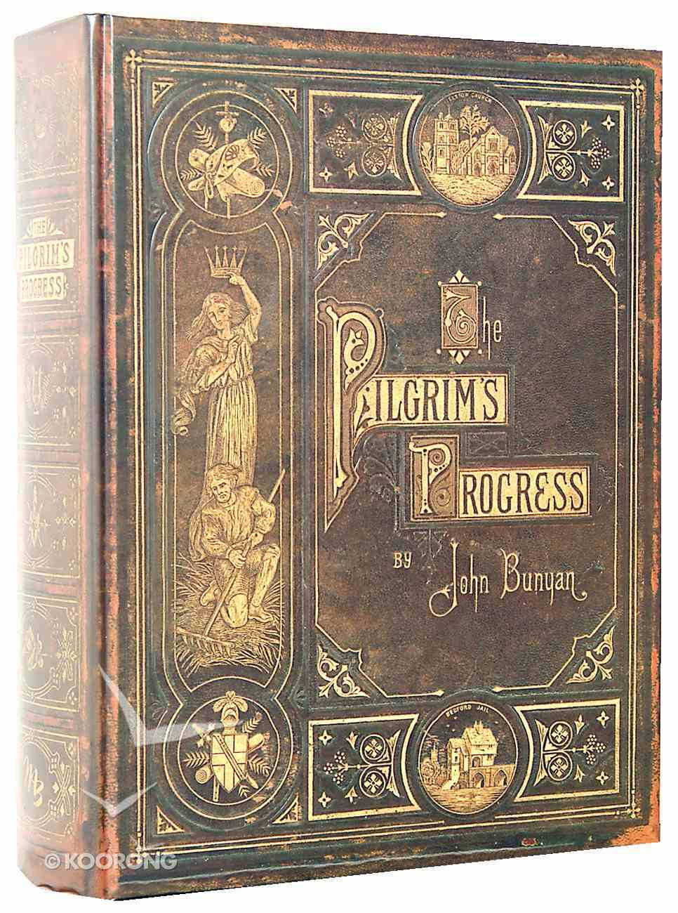 The Pilgrim's Progress (Classic Edition Large Print) Hardback