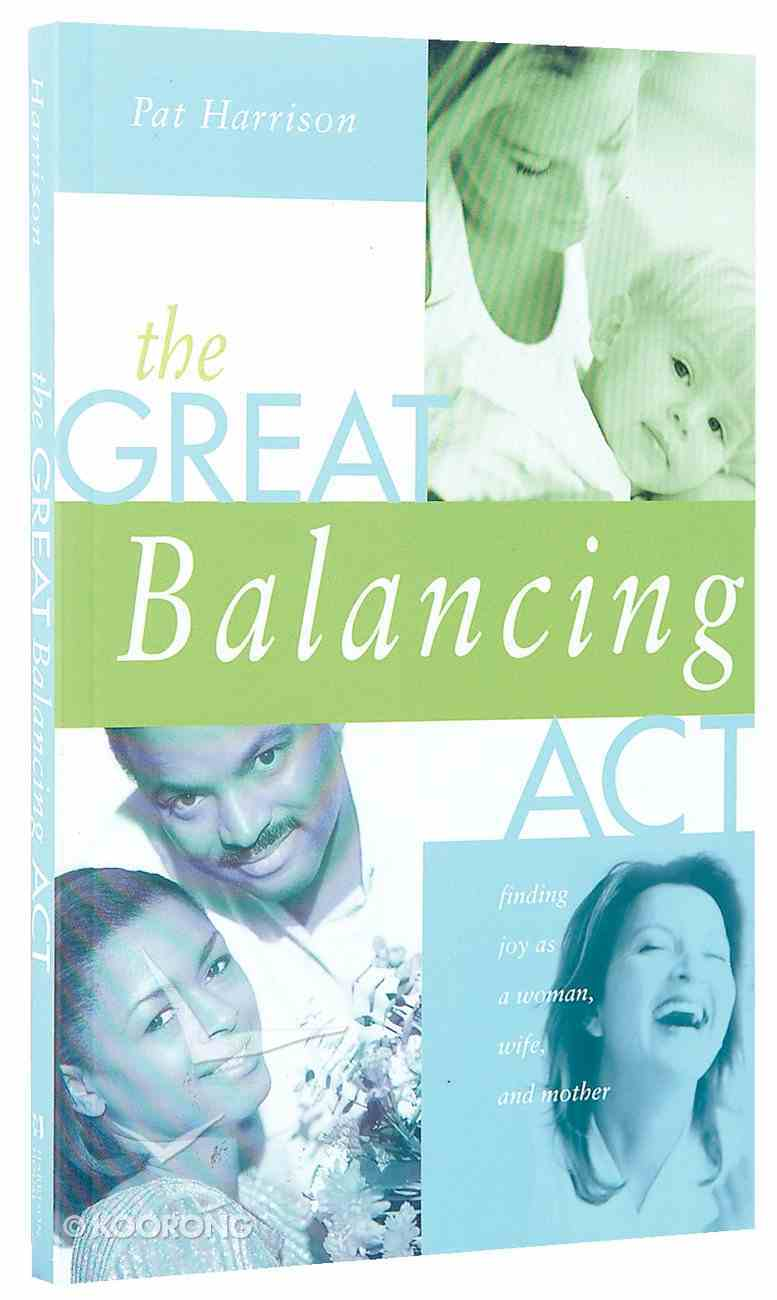 The Great Balancing Act Paperback