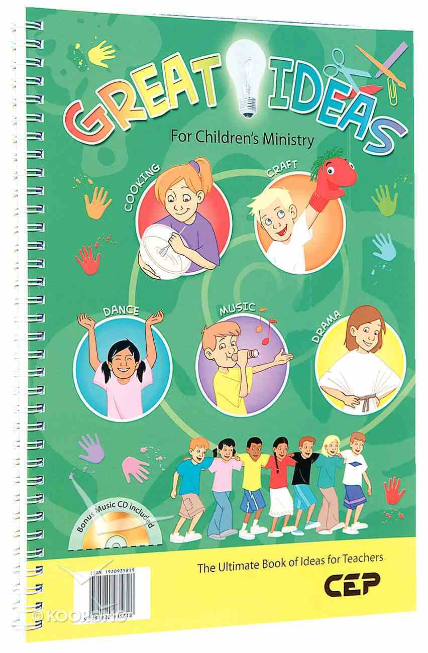 Great Ideas For Children's Ministry Spiral