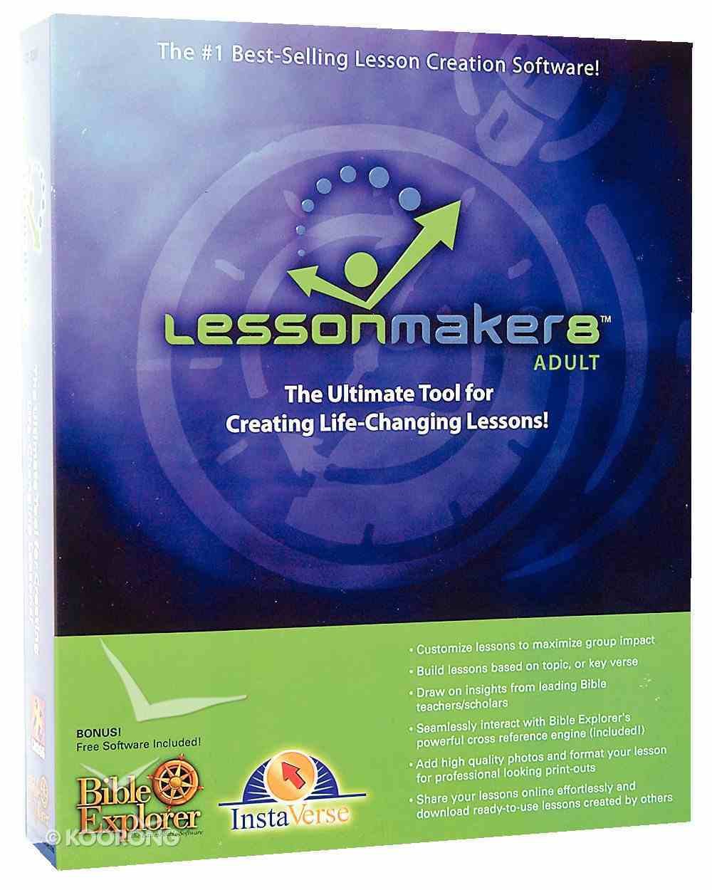 Lessonmaker 8.0 Adult Meeting Kits CDROM CD-rom