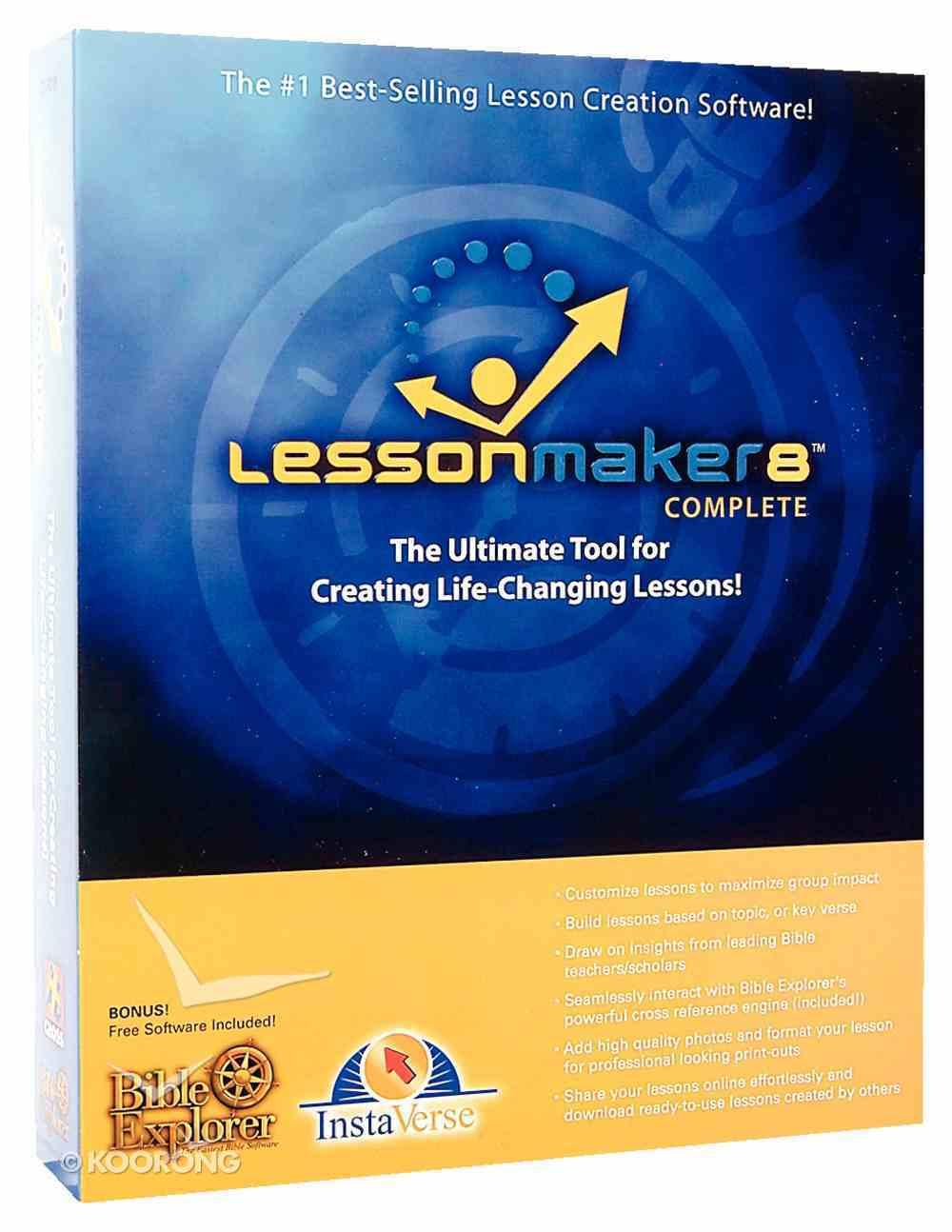 Lessonmaker 8.0 Complete CDROM CD-rom