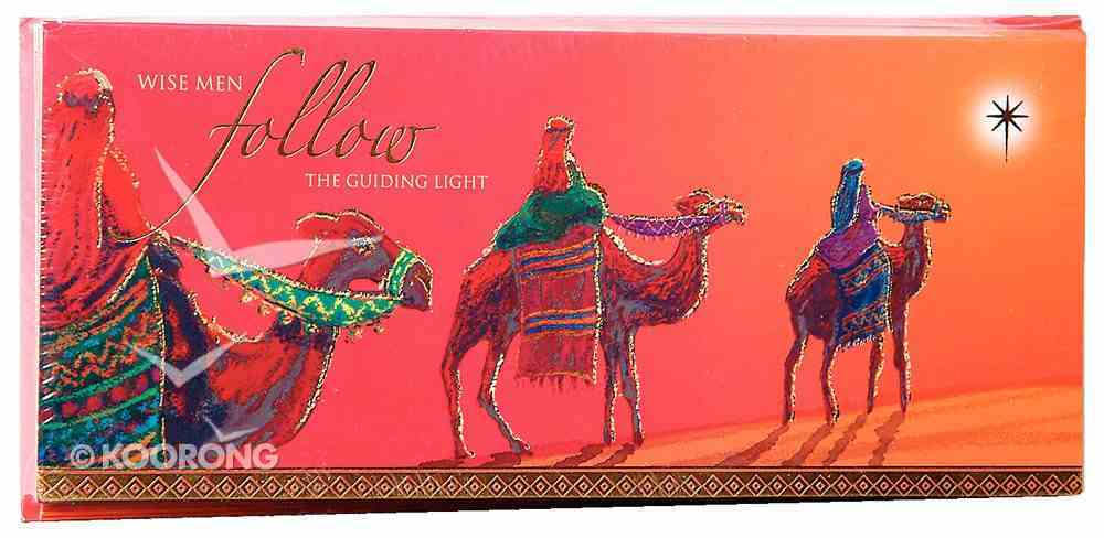 Christmas Boxed Cards: Wise Men Gold Foiled Cards