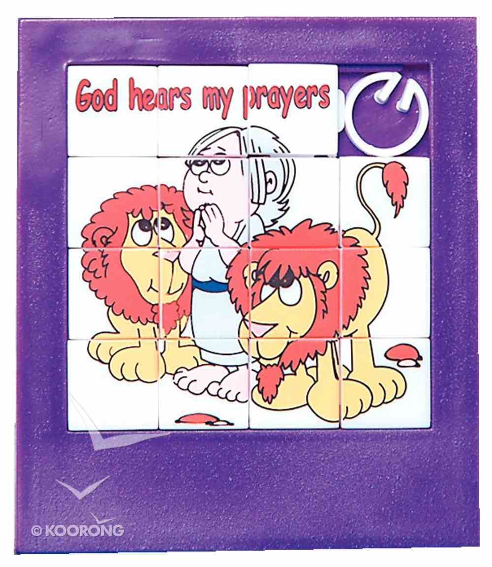 Novelty Puzzle: God Hears My Prayers Novelty