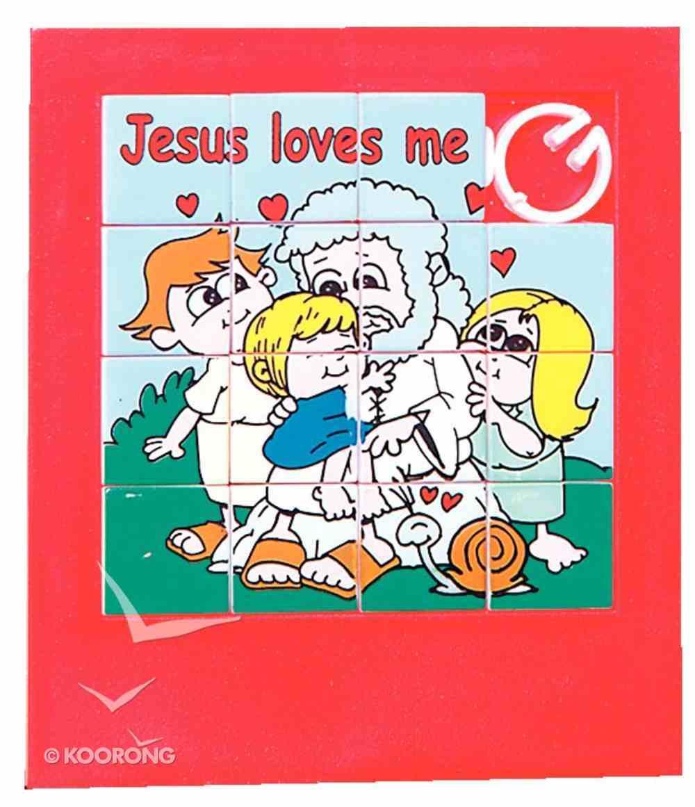 Novelty Puzzle: Jesus Loves Me Novelty