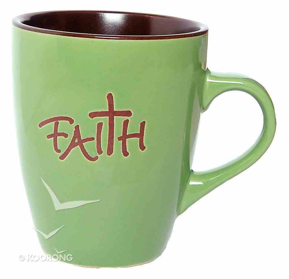 Mug: Faith Green Homeware