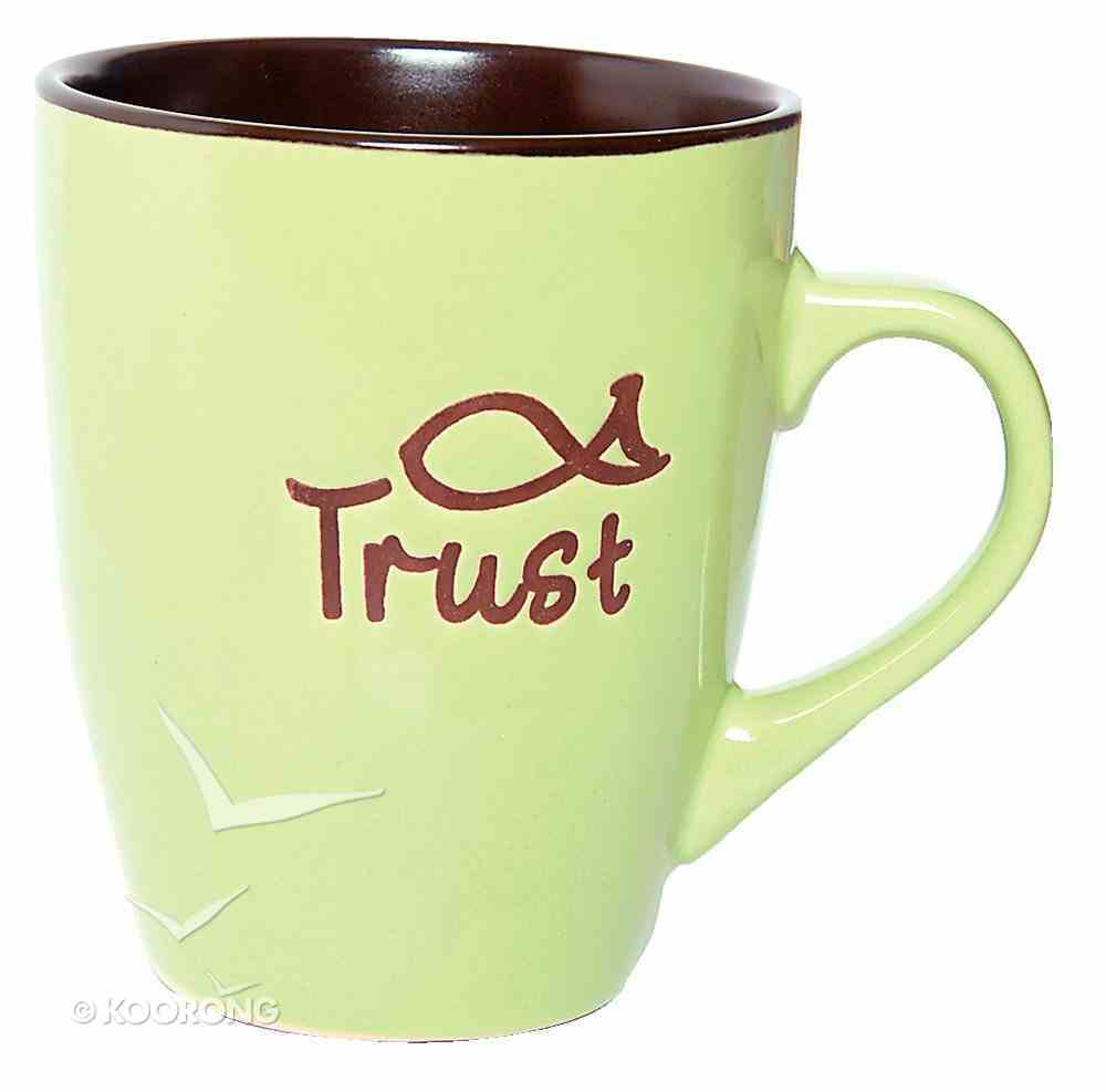 Mug: Trust Light Green Homeware