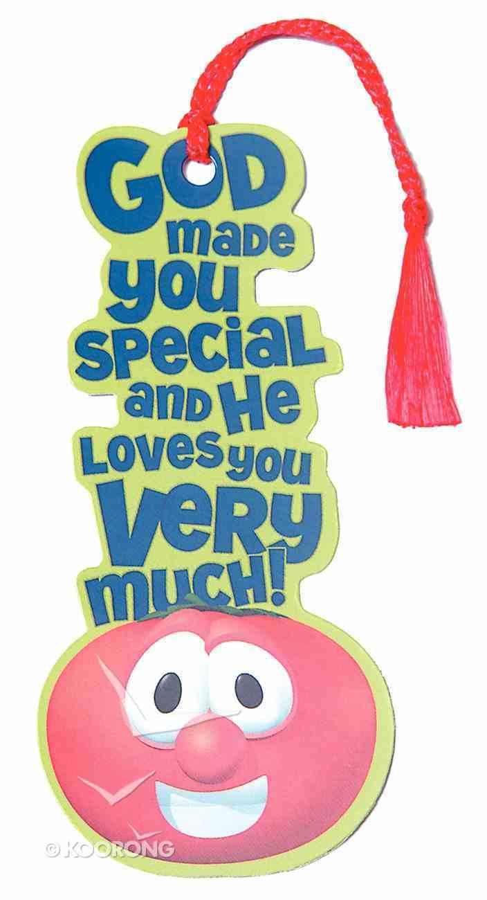 Bookmark With Tassel: Veggie Tales Bob Tomato Stationery