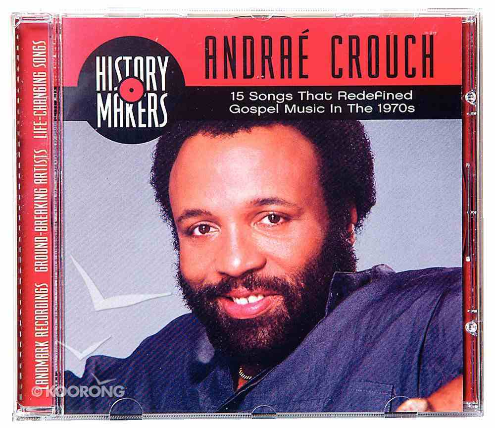 Andrae Crouch Collection (History Makers Music Series) CD