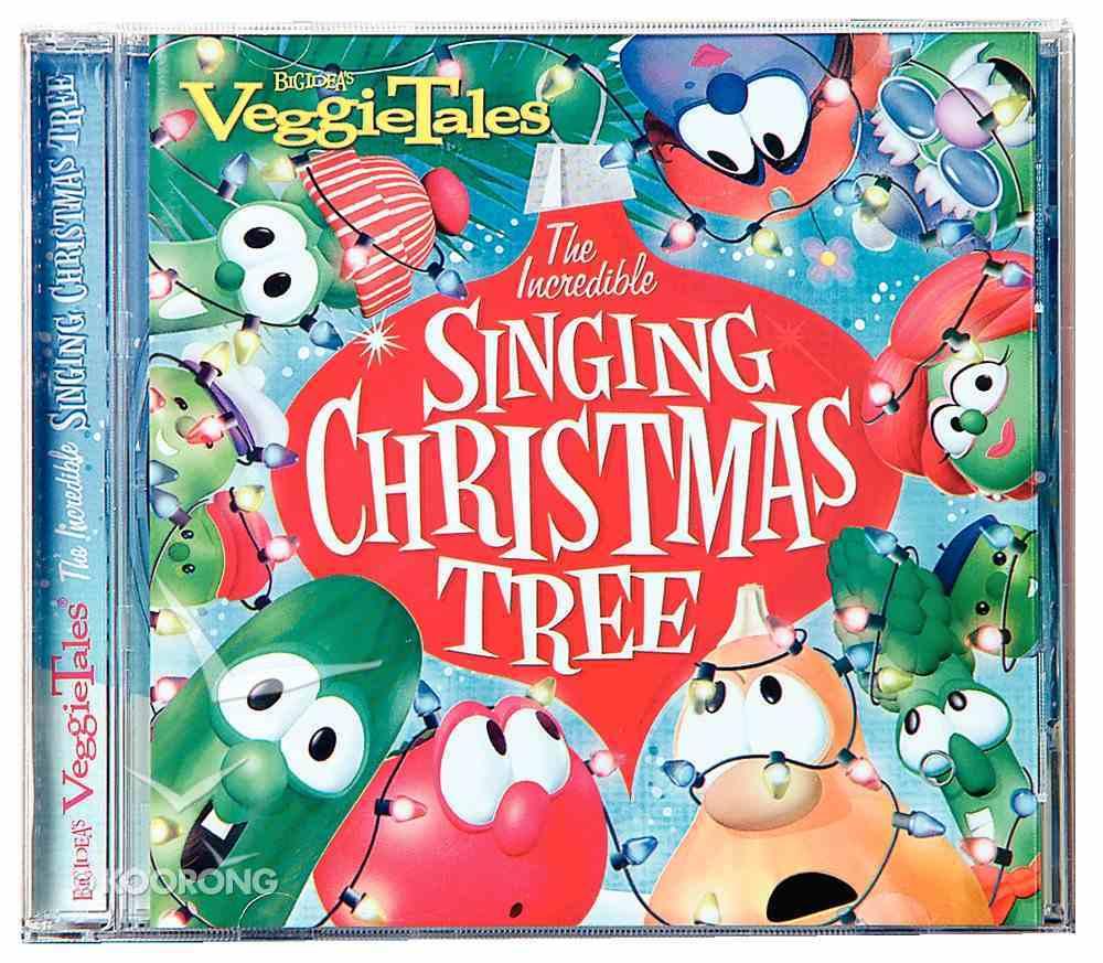 Incredible Singing Christmas Tree (Veggie Tales Music Series) CD