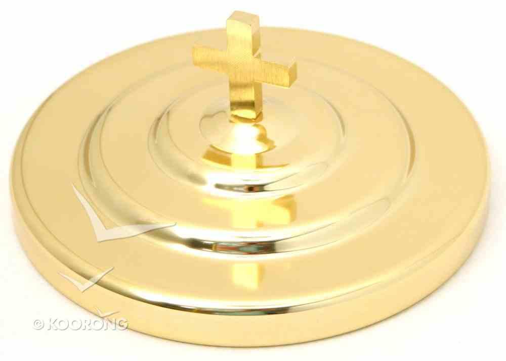"""Bread Plate Cover: Brasstone (Rw-503ab) (6 3/4"""") Church Supplies"""