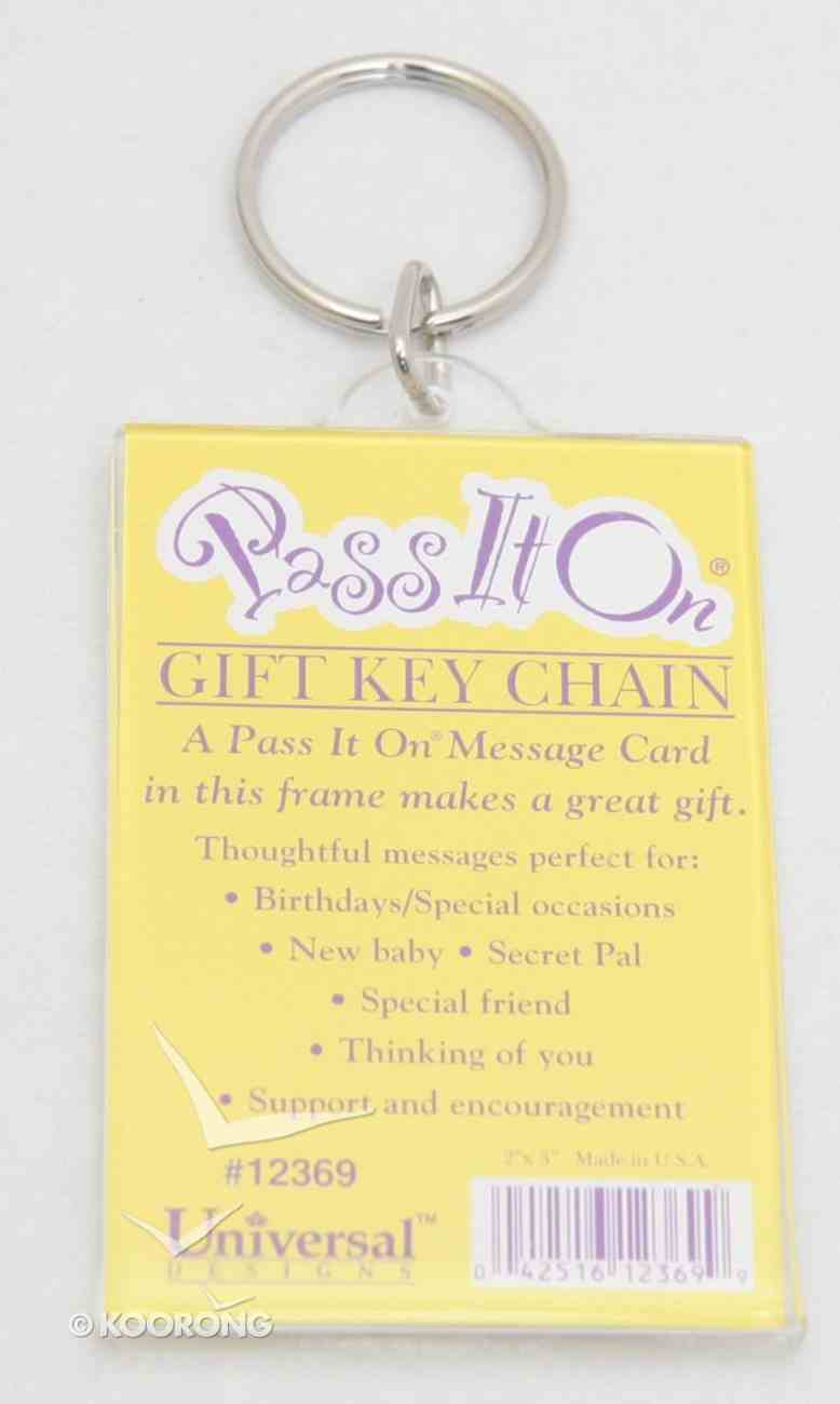 Keyring: Pass It on (Pass It On Cards Series) Novelty