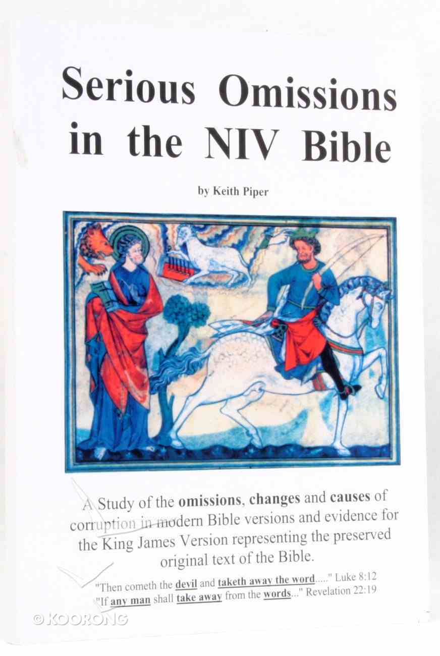 Serious Omissions in the NIV Paperback