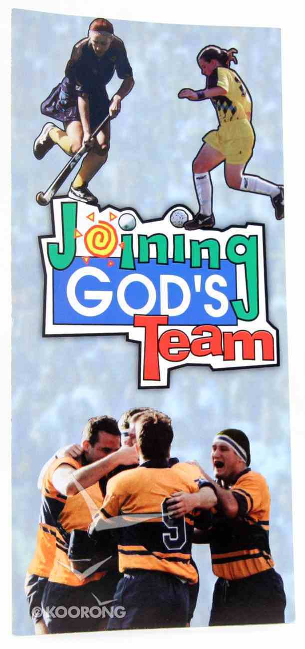 Joining God's Team Booklet