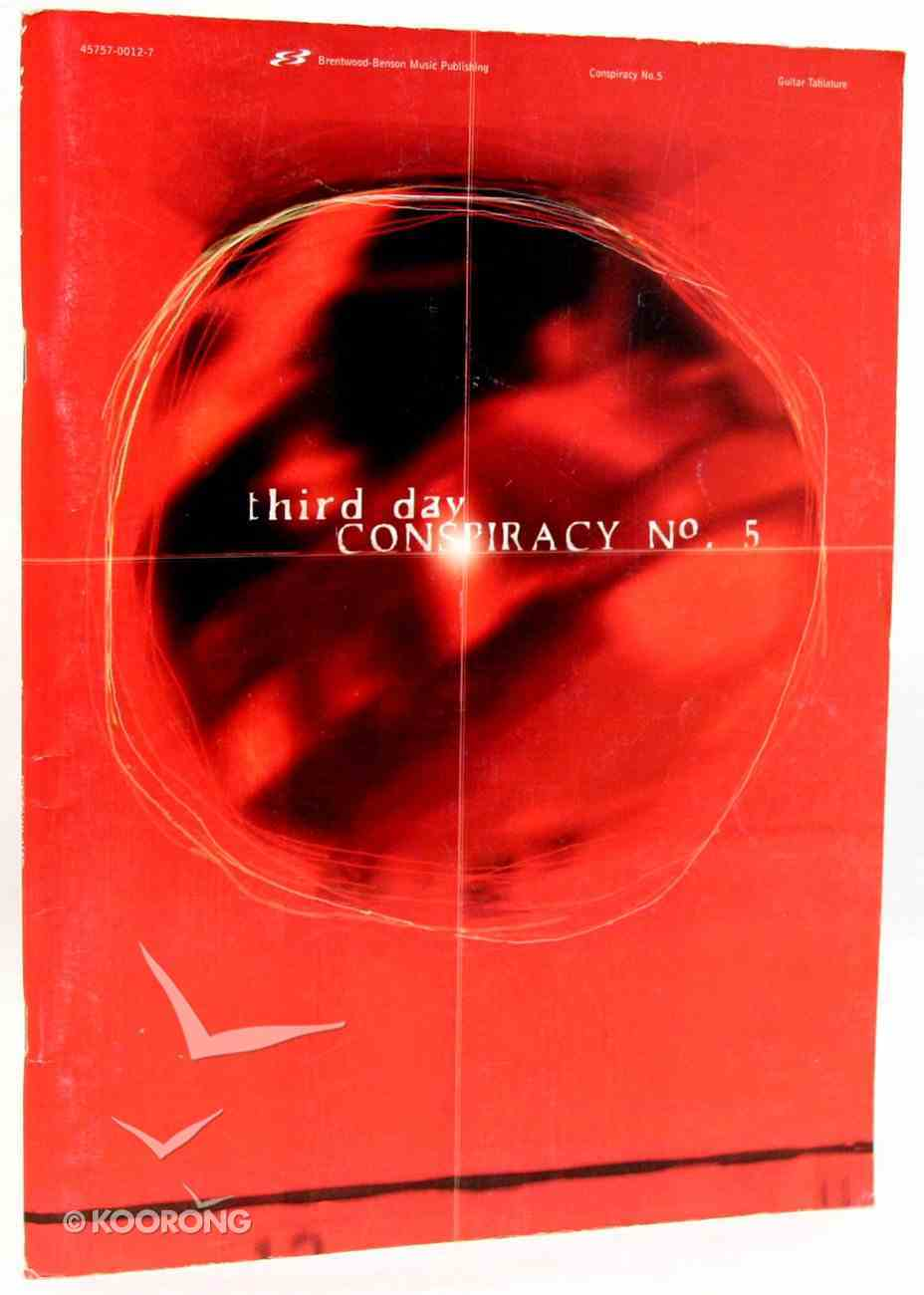 Conspiracy No #5 (Music Book) (Songbook) Paperback