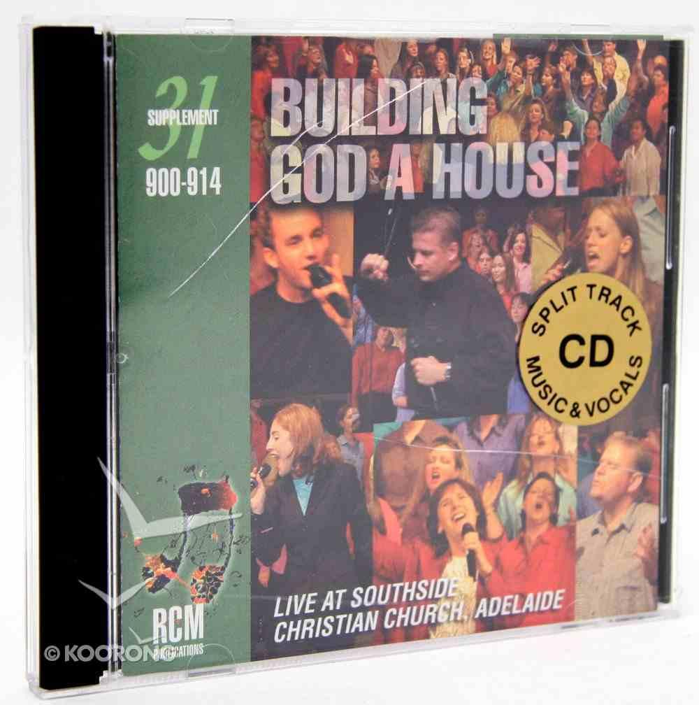 Rcm Volume E: Supplement 31 Building God a House (Split Trax) (900-914) CD