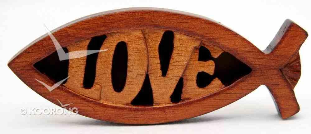Magnet: Love (Fish Design) Novelty