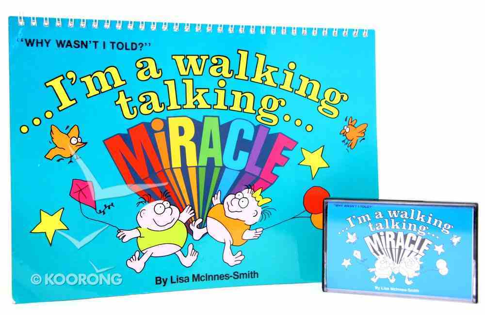 I'm a Walking, Talking Miracle (Book And Cd) Spiral