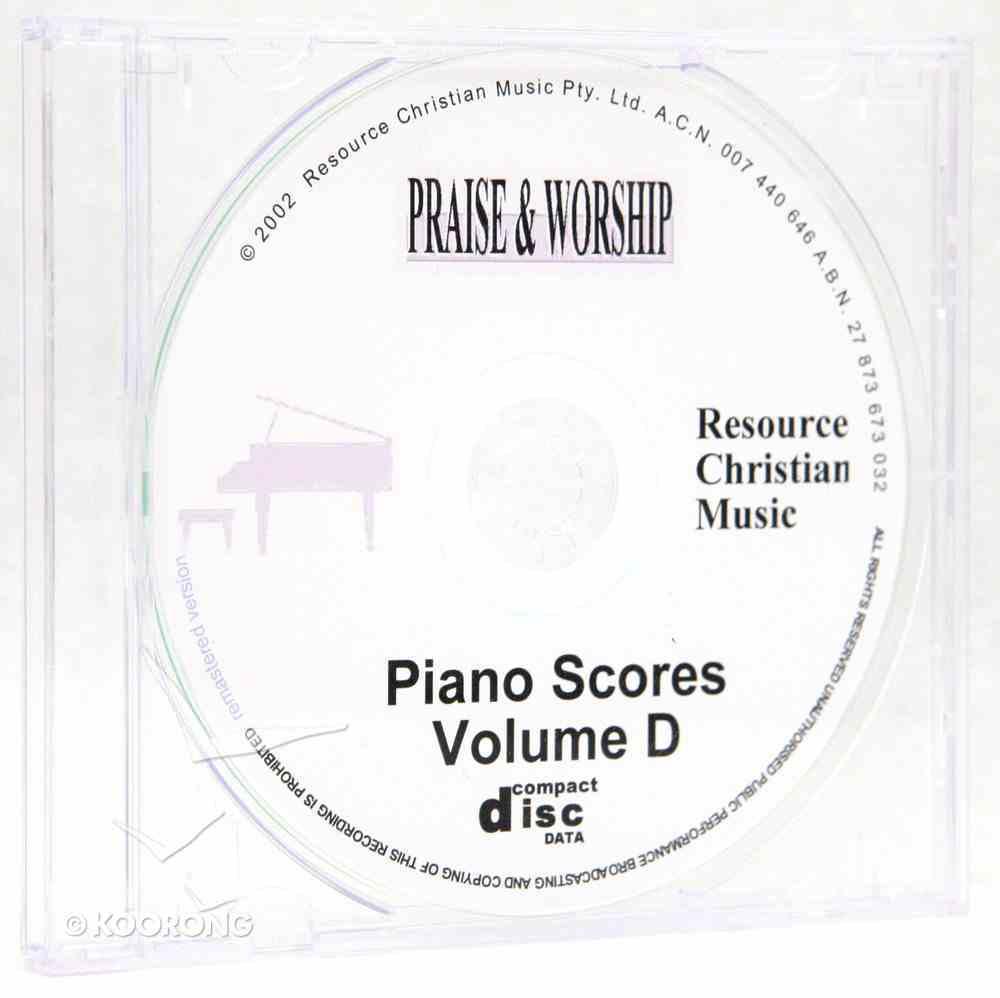 Rcm Volume D Full Piano Music on CDROM (Supp 21-27) CD-rom