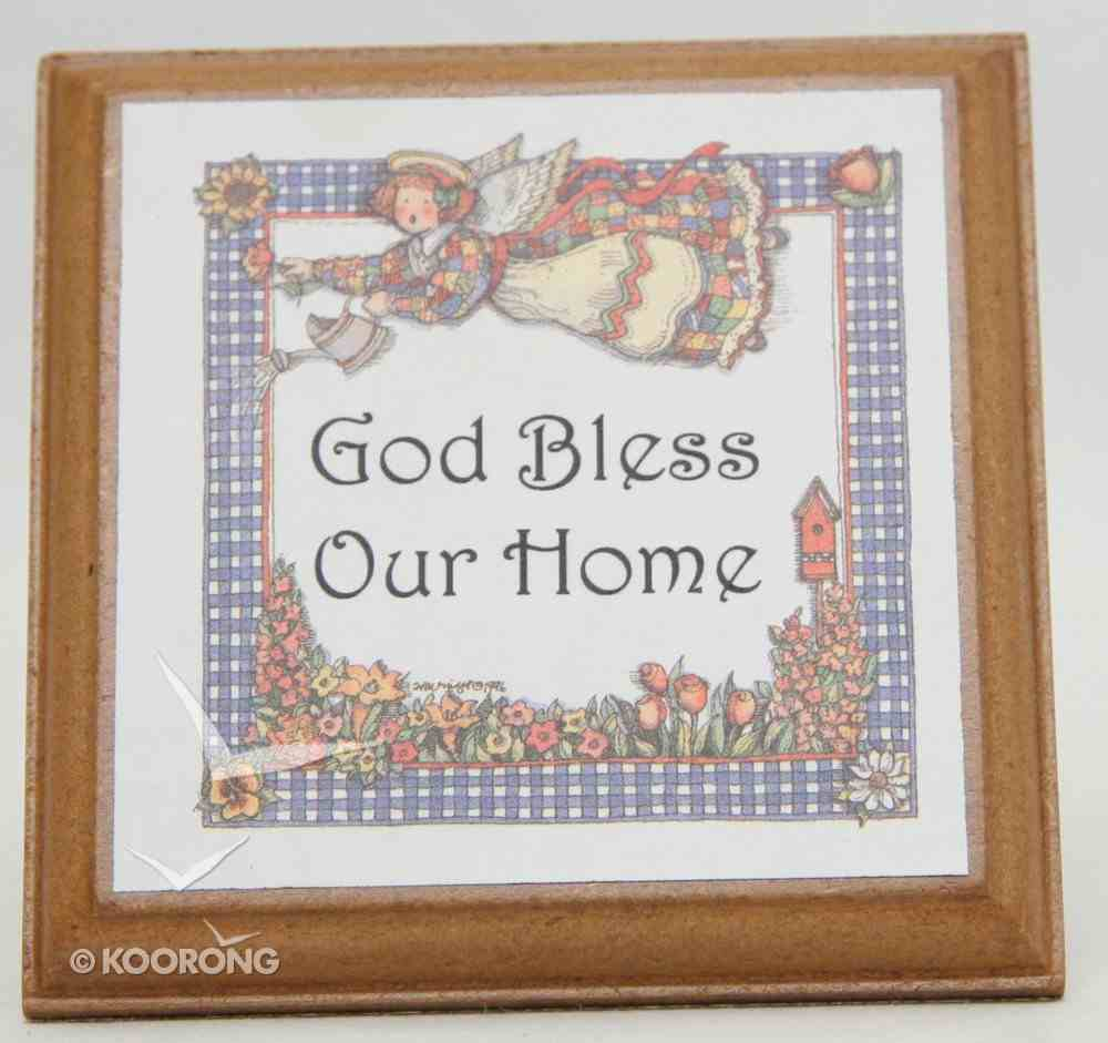 Extra Small Plaque: God Bless Our Home Homeware