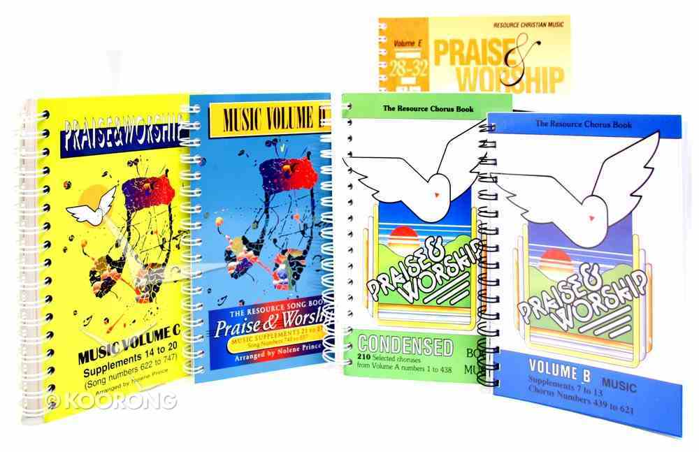 Rcm Volume A-E Complete Music Book Pack