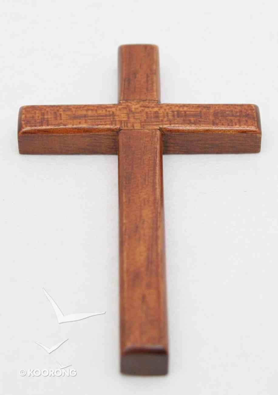 Cross 10Cm (Bevelled Edge, Hanging) Plaque
