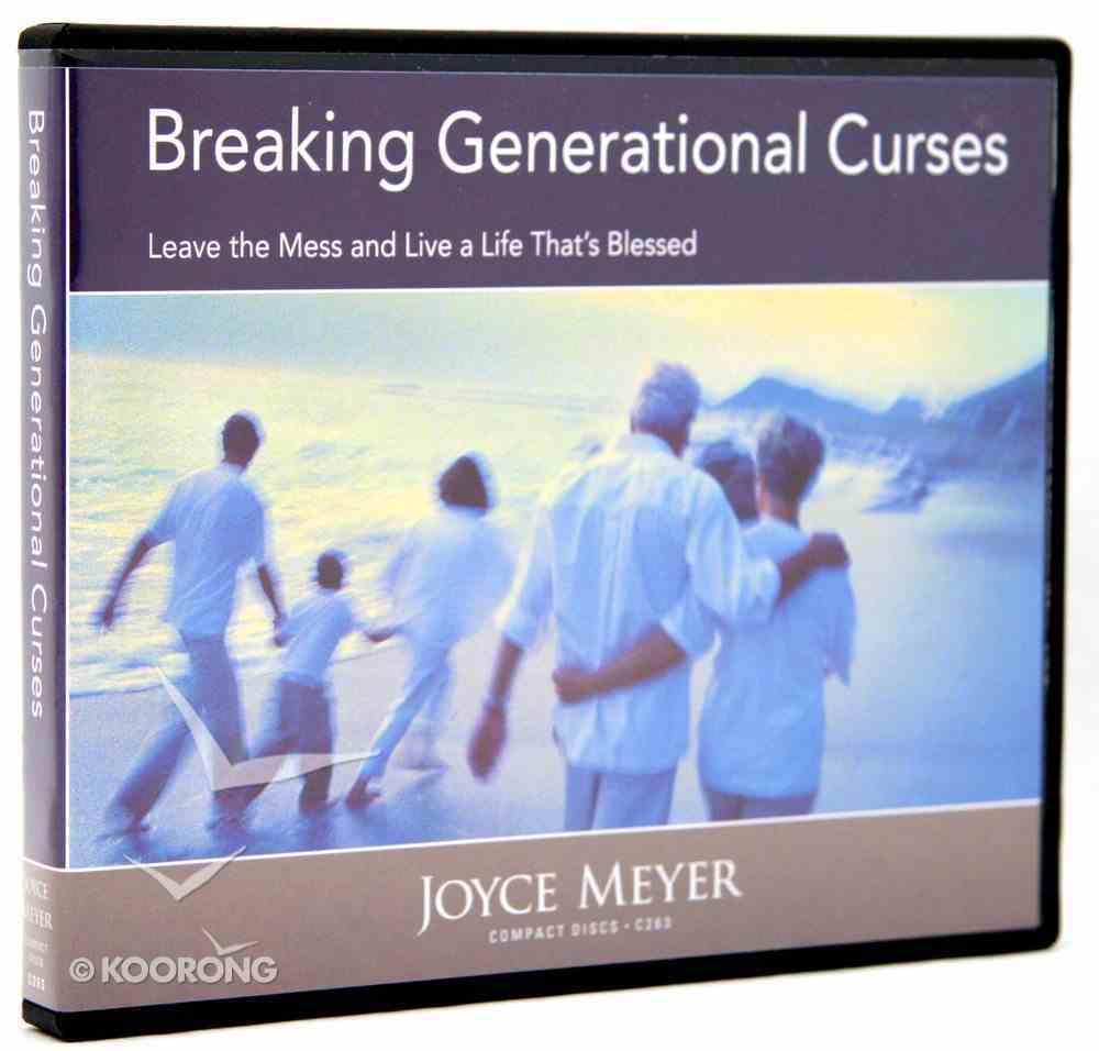 Breaking Generational Curses (2 Cds) CD