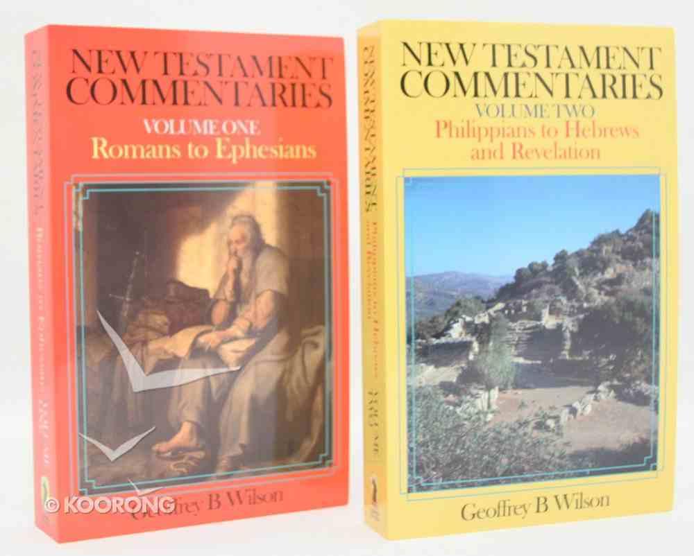 New Testament Commentaries (2 Vol Set) Pack