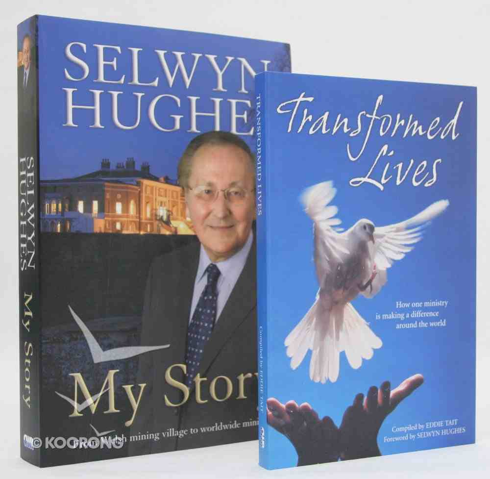 Selwyn Hughes Biography Pack: My Story + Transformed Lives Paperback