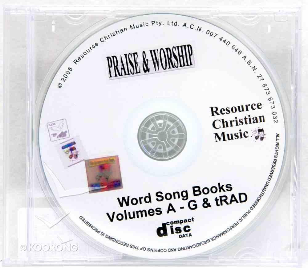 Rcm: Complete Set of Words (Cdrom) CD-rom