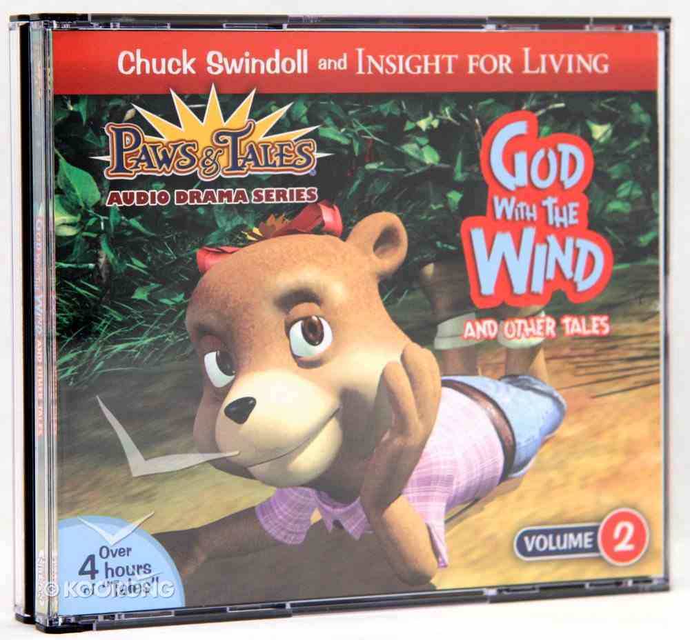 God With the Wind and Other Tales (#02 in Paws & Tales Series) CD